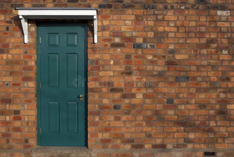 Single door stock photography