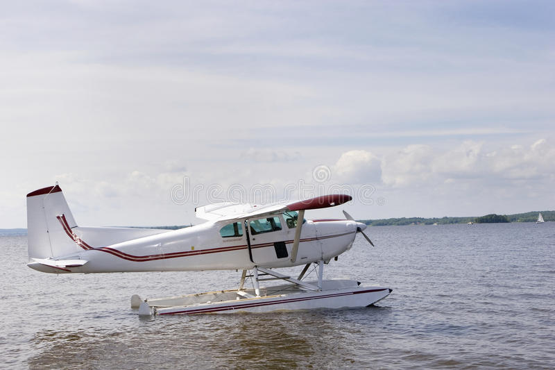 Single engine plane stock photography