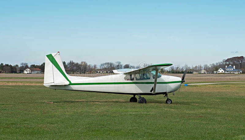 Single Engine Prop Plane royalty free stock images