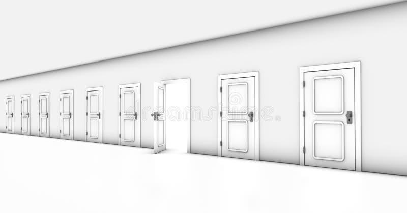 Single Exit royalty free illustration