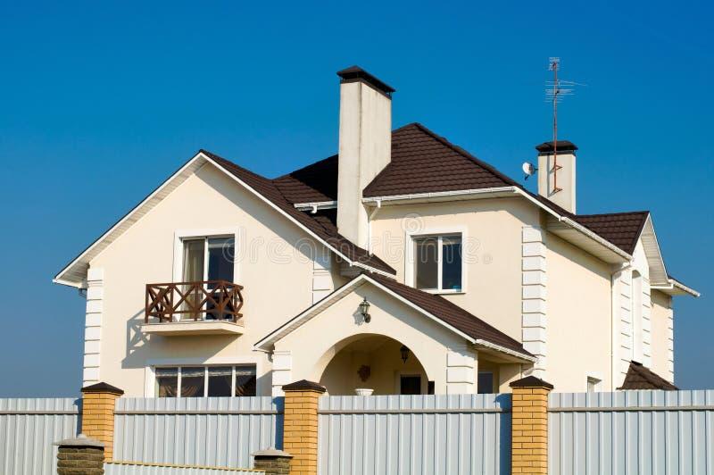 Single family house stock image