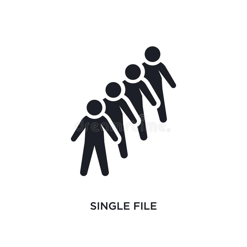 single file isolated icon. simple element illustration from humans concept icons. single file editable logo sign symbol design on vector illustration