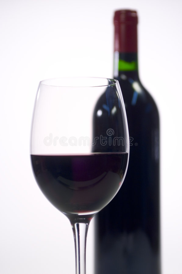 Free Single Glass Of Wine Royalty Free Stock Images - 1041679