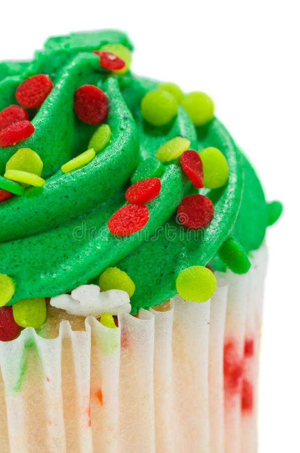 Download Single Green Cupcake stock image. Image of calories, eating - 22445793