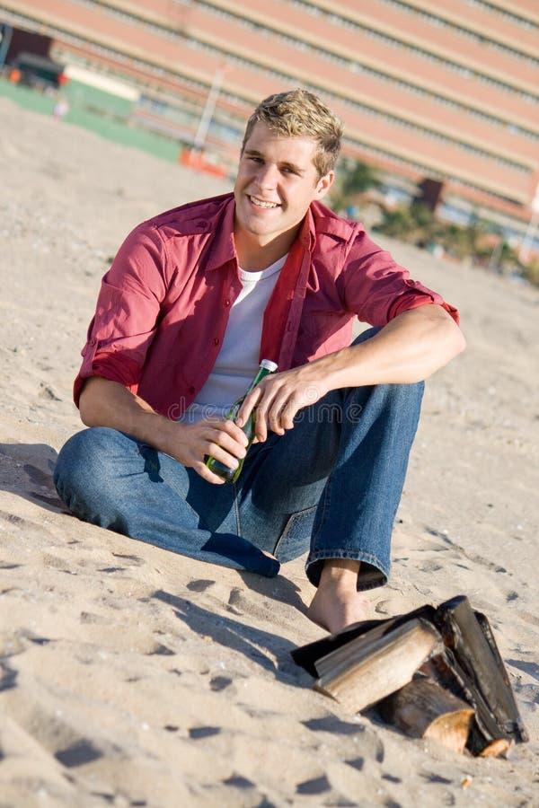 Download Single guy stock photo. Image of burning, enjoying, sand - 10041592