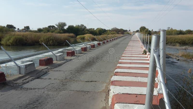 Single Lane Bridge royalty free stock photography