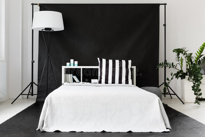 Download Single Man Bedroom Idea Stock Image. Image Of House, Decor    76847379