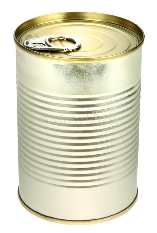 Download Single metal can stock photo. Image of canister, preserved - 14268362