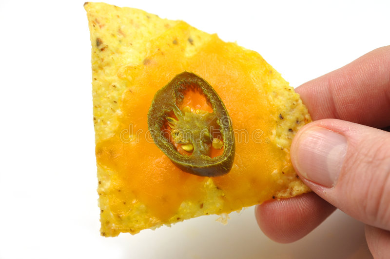 Download Single nacho stock image. Image of mexican, vegetable - 6878637