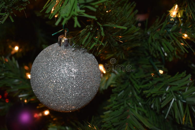 A Single Ornament stock photography