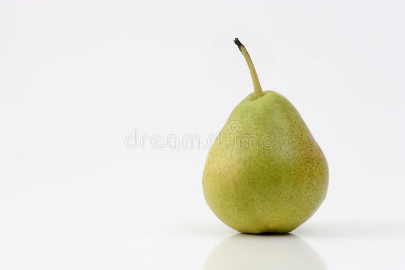 Single Pear stock photo