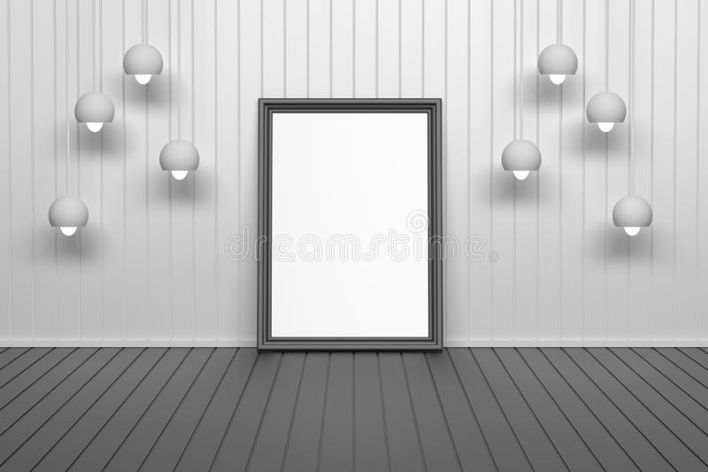 Single picture image frame stock illustration