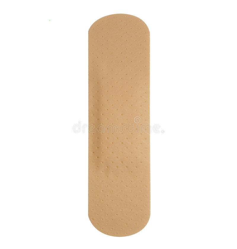 Free Single Plaster Band Aid Royalty Free Stock Photo - 8788435