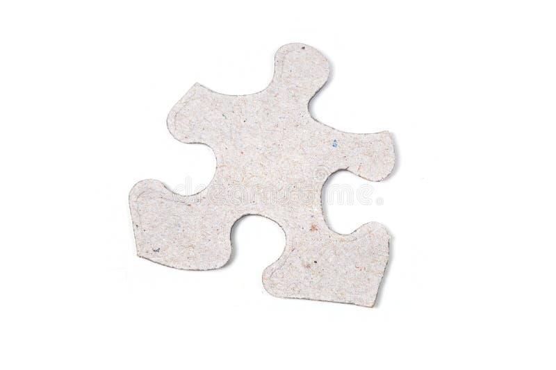Single puzzle piece stock image