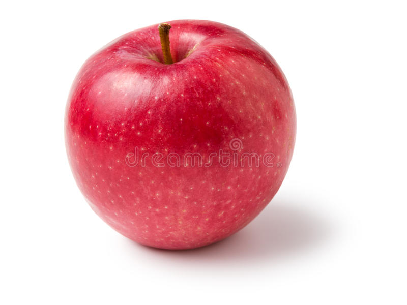 Download Single red apple stock image. Image of smooth, eating - 27064871