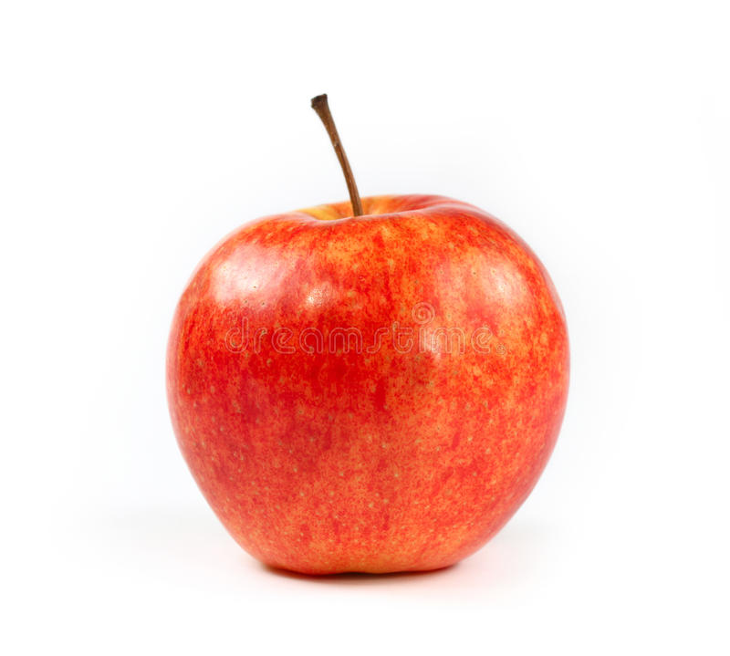 Free Single Red Apple Isolated Royalty Free Stock Image - 12326726