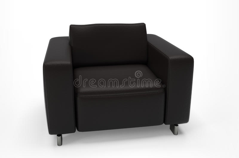 Download Single seat sofa stock illustration. Image of relax, creative - 13709642