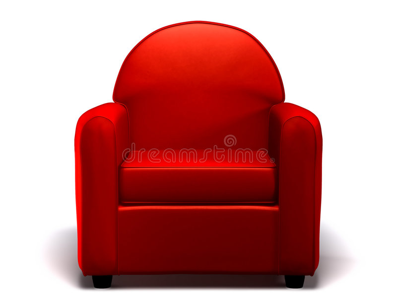 Single seat sofa royalty free stock photo