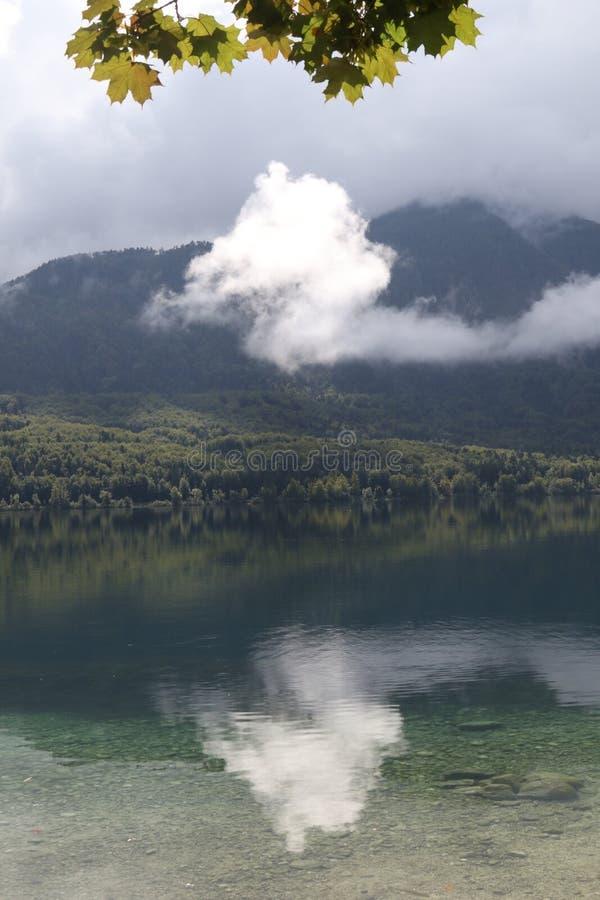 Lake Bohinjsko jezero, Bohinj, Slovenia, Europe stock images