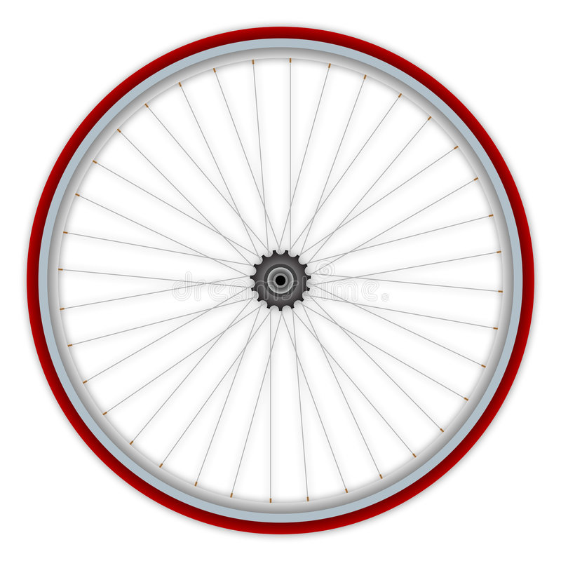Single Speed Bicycle Wheel Royalty Free Stock Photos Image 8536418