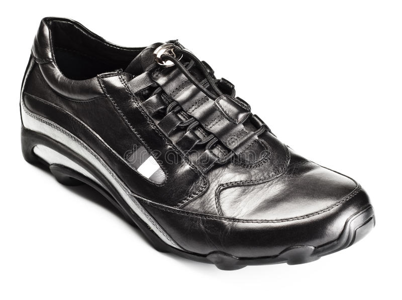 Single sport shoe stock photography