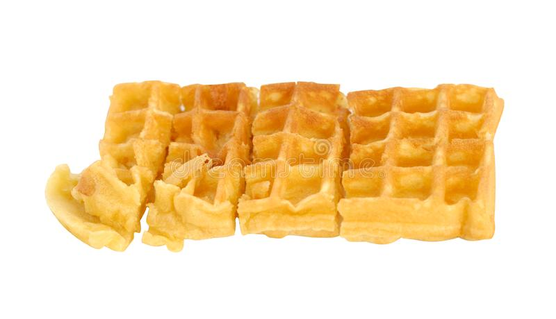 Download Single Waffle stock photo. Image of waffle, diet, candy - 14954302