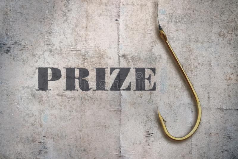 Single word Prize stock image