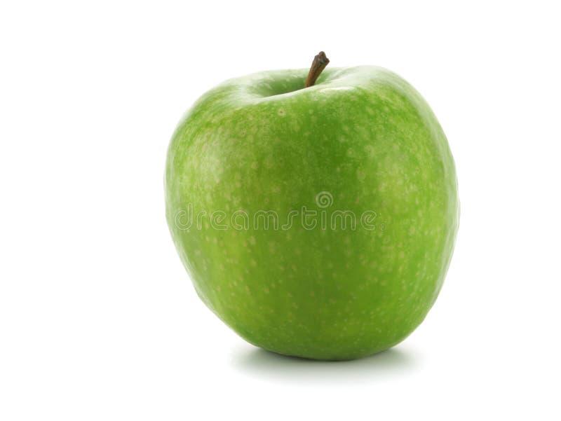 Singola mela verde fotografia stock libera da diritti