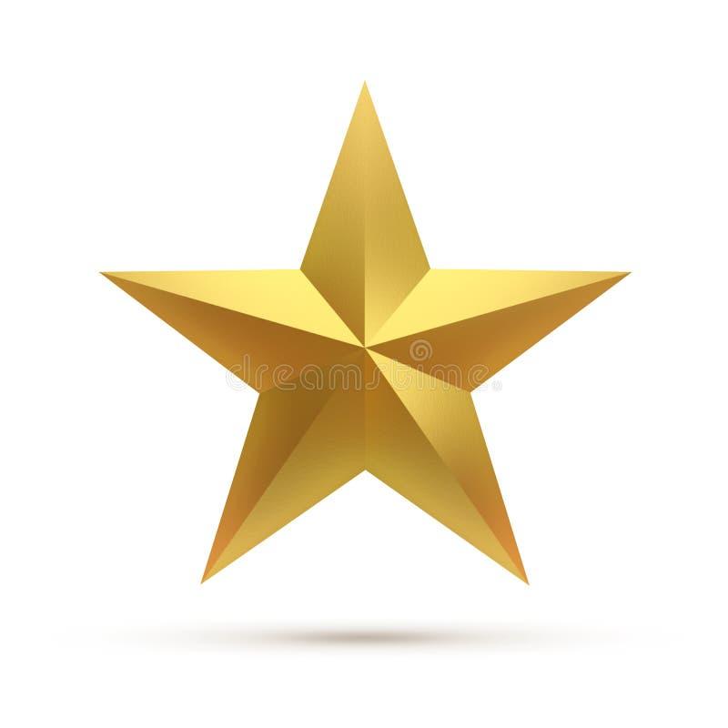 Singola stella illustrazione di stock