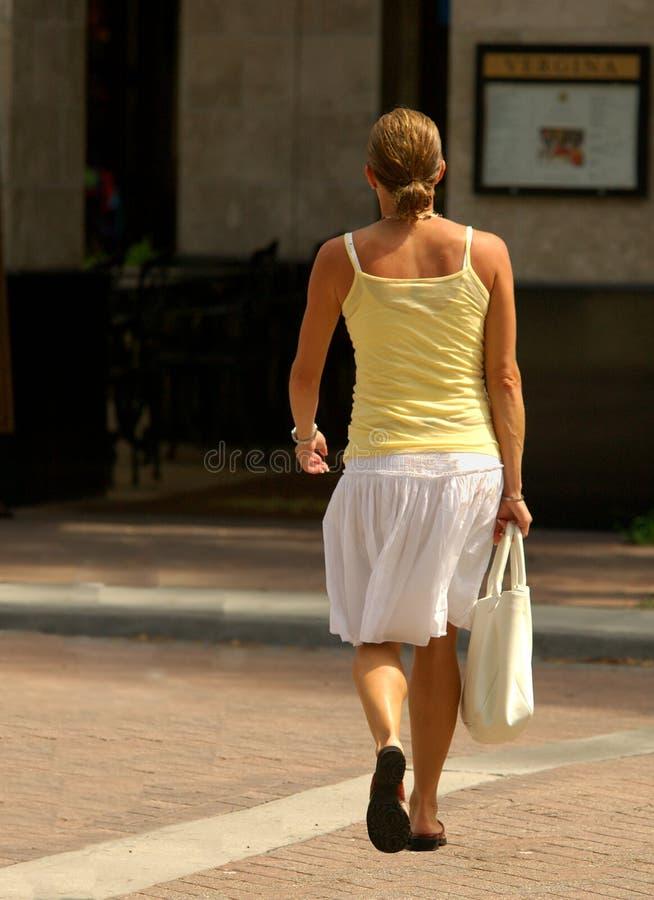 Download Singolo Acquisto Della Donna Fotografia Stock - Immagine di camicetta, distretto: 221306