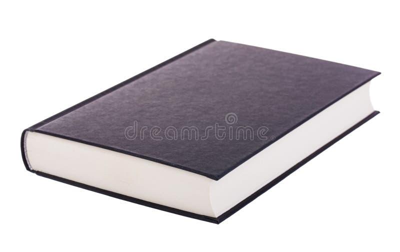 Singolo libro nero fotografie stock