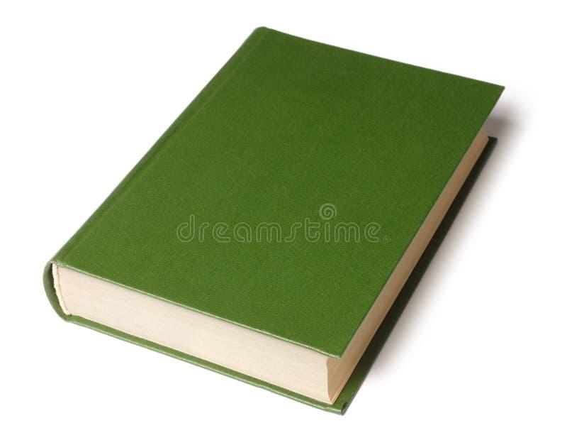 Singolo Libro verde fotografie stock