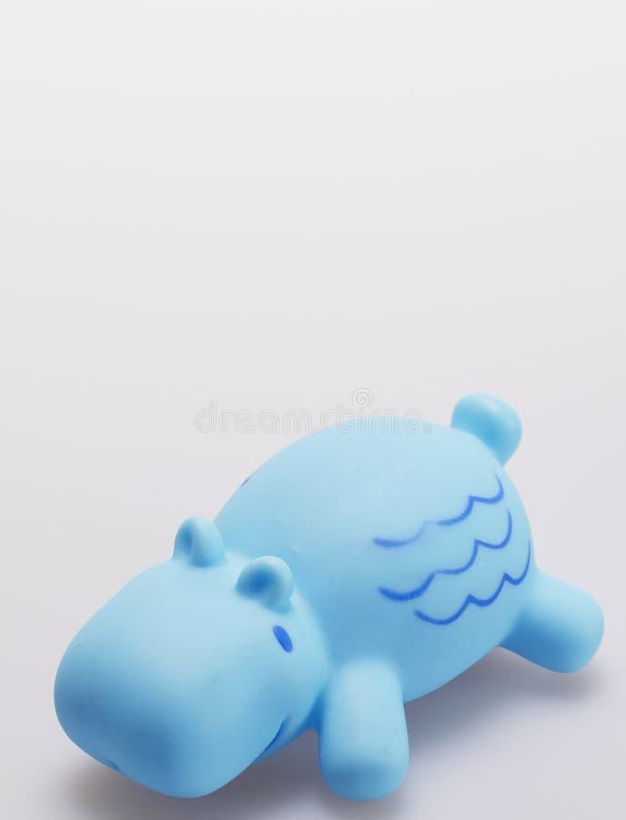 Singolo Toy Hippo immagini stock libere da diritti