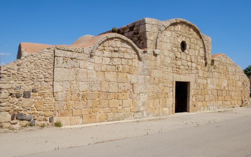 Sinis de San Giovanni, Sardaigne, Italie, l'Europe, l'église de San Giovanni image libre de droits
