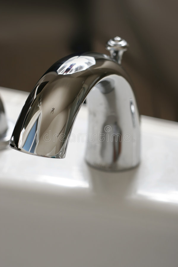 Sink faucet royalty free stock photos