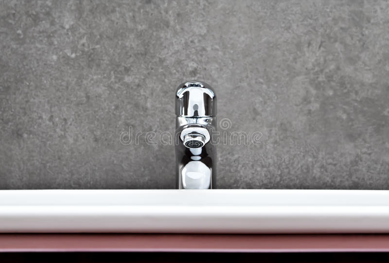 Download Sink flat closeup stock photo. Image of porcelain, chrome - 27842430