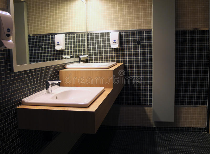 Download Sink In A Public Toilet Stock Photo Image Of Lavatory