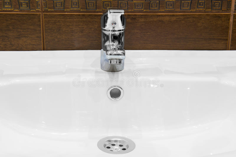 Download Sink, and shiny faucet stock image. Image of metal, pipe - 41337375