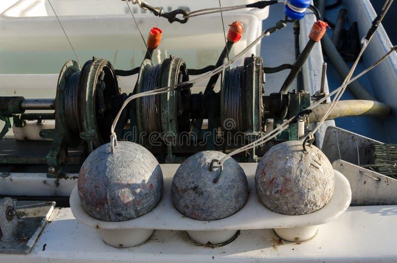 Sinkers dla łowić zdjęcia stock