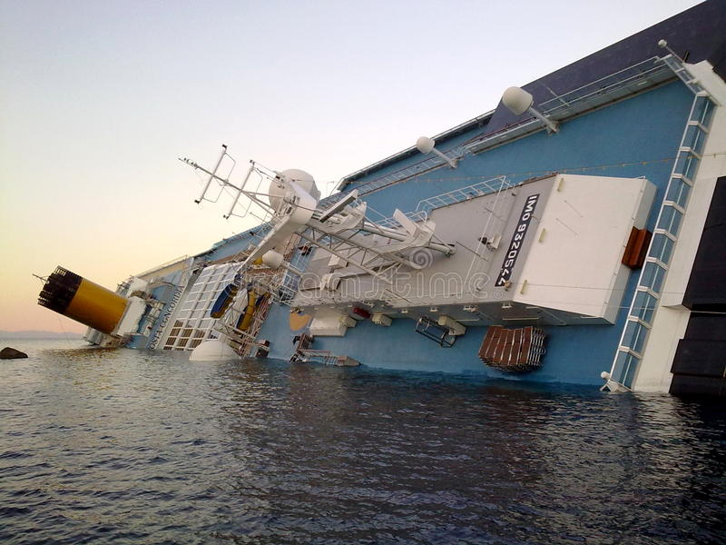Download Sinking Cruise Ship Costa Concordia Editorial Image - Image: 22848975