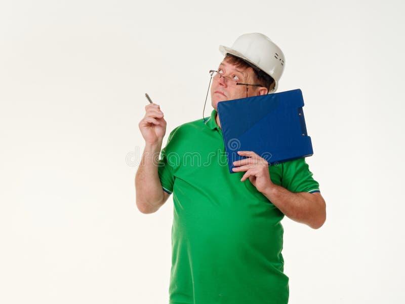 Sinnesrörelsemanordförande på en vit bakgrund arkivfoton