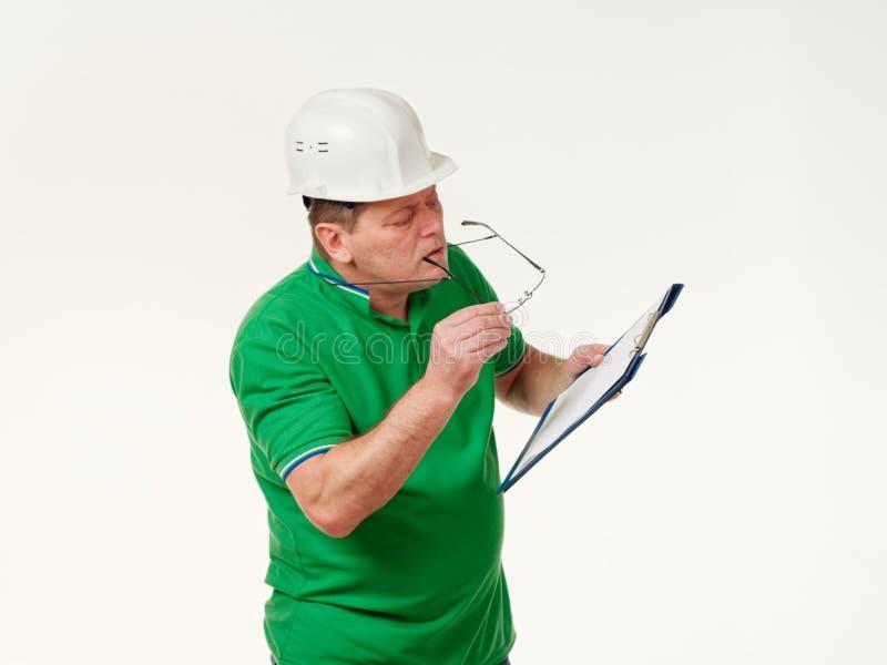Sinnesrörelsemanordförande på en vit bakgrund arkivfoto