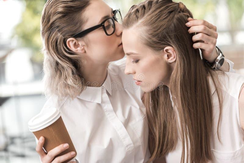 Sinnliche Lesbische Paare, Die Zusammen Zeit Verbringen