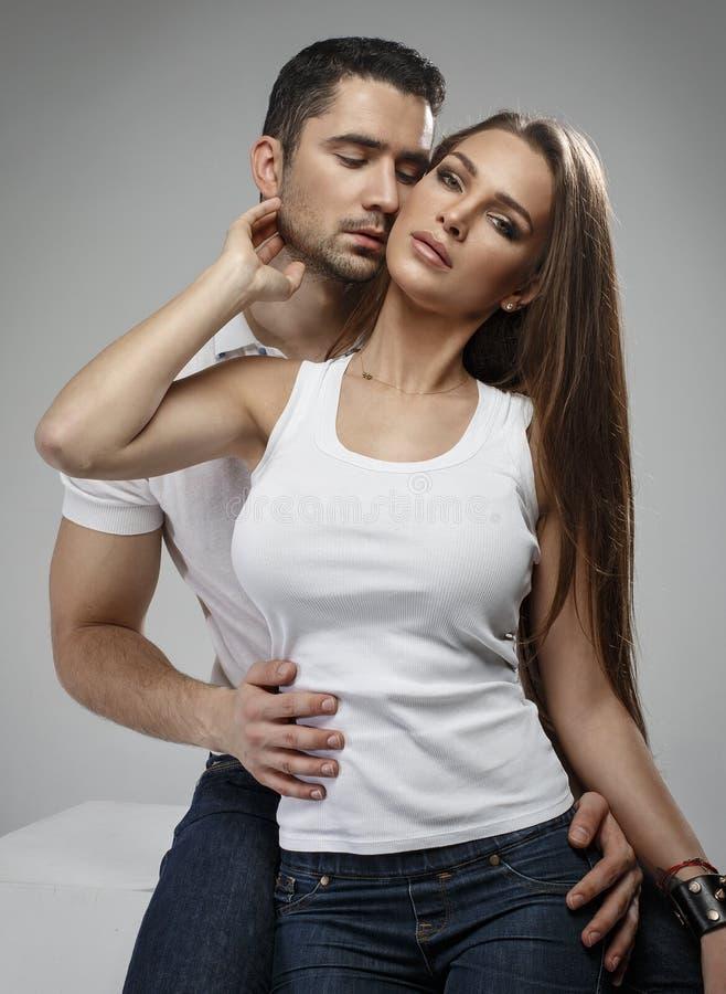 Sinnliche Paare stockfotografie
