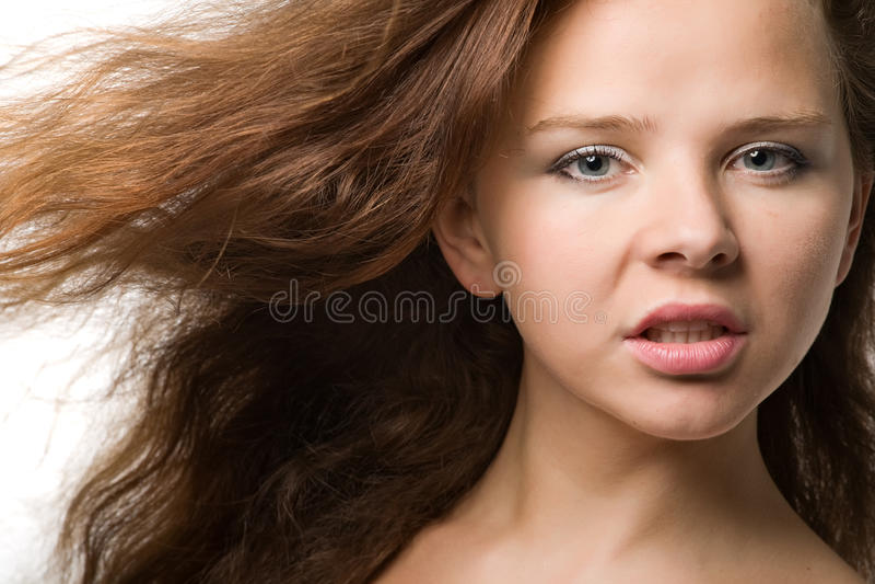 sinnlig flicka fotografering för bildbyråer