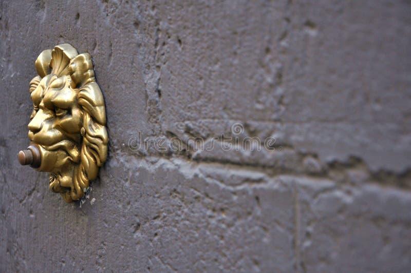 Sino de porta velho em Florença, Italy imagem de stock royalty free