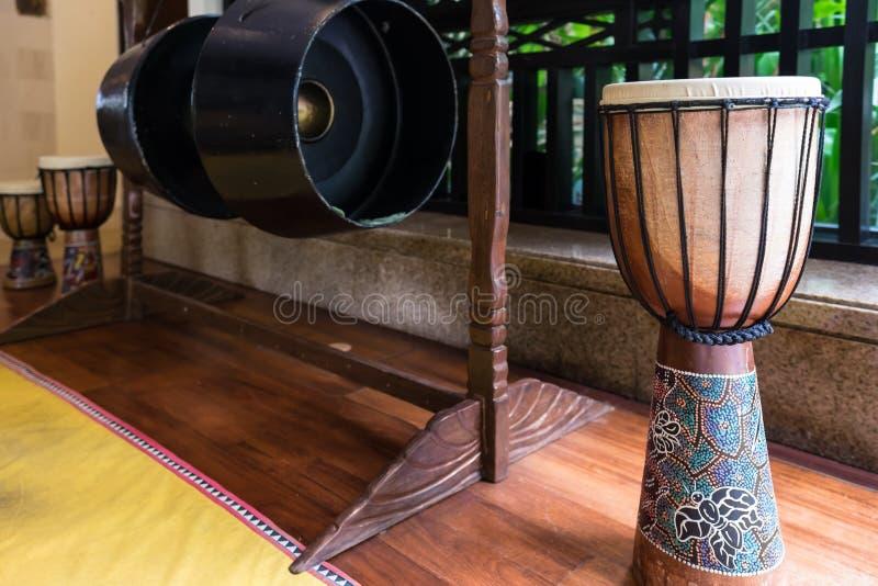 Sino gongo tradicional de Kadazan imagens de stock royalty free