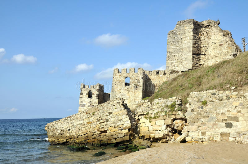 Sinop Castle. At the tip of the Black Sea in Turkey stock image