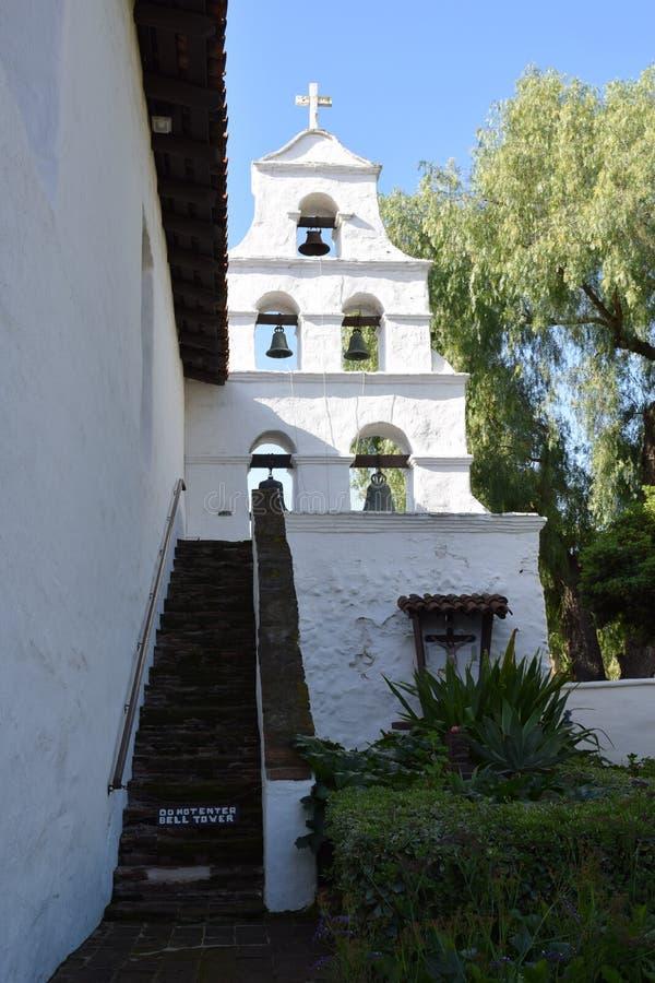 Sinos de San Xavier del Bac imagem de stock