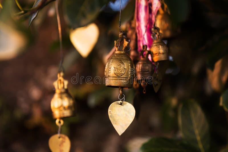 Sinos grandes famosos do desejo da Buda, Phuket, Tailândia imagens de stock